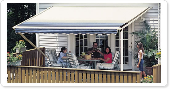 Our Aluminum Awnings Provide Year Round Shelter For Outdoor Living On Long Island