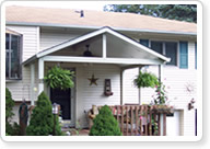 Insulated Awnings for Long Island homes give the availability to enclose as a sunroom later.