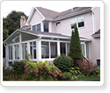 Gable Sun Rooms add to your existing home structure