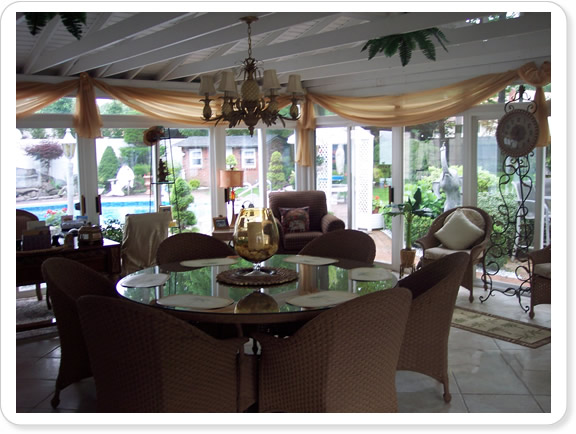 Add To Your Long Island Living Space With A Beautiful Glass Sun Room  Enclosure From Sunscape