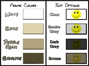 Eze Breeze color chart
