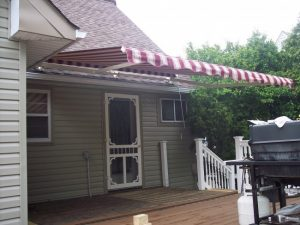 Retractable Awning roof mount