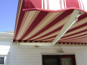 Retractable Awning with LED lights