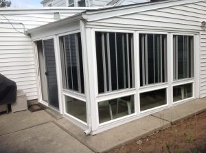Enclosure that is insulated and installed under existing roof